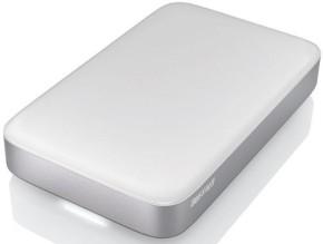 Die Buffalo MiniStation Thunderbolt wahlweise mit 500 GB oder 1000 GB Festplatte oder auch mit 128/256 GB SSD.