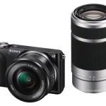 Sony Alpha NEX-3N mit 16-50mm und 55-210mm Objektiv. Bild: sony.de
